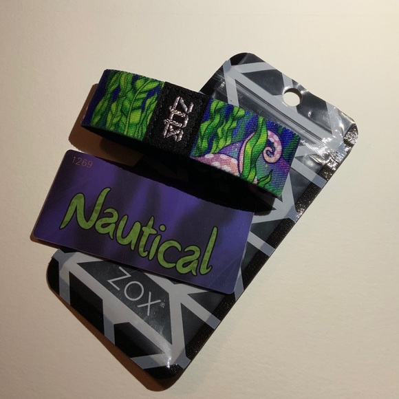 ZOX Jewelry - ZOX Strap Wristband & Card - Nautical  * Octopus *